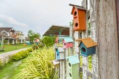 Bird house at garden. In Thailand royalty free stock photos
