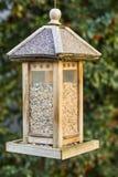 Bird house hanging royalty free stock photo