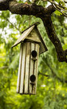 Bird house. Royalty Free Stock Photos