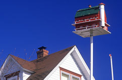 Bird house for Martins, Washburn, WI Royalty Free Stock Photo