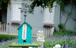 The bird house model royalty free stock photography