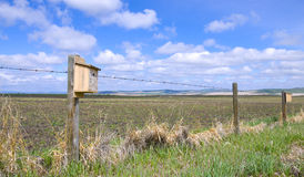 Bird House On The Prairie Royalty Free Stock Photography