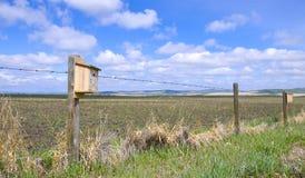 Bird House on the Prairie Royalty Free Stock Photography