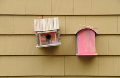 Bird Houses Royalty Free Stock Images
