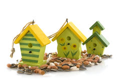 Bird houses Royalty Free Stock Photos
