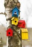 Bird houses Royalty Free Stock Photography