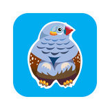 Bird icon Stock Photo