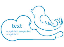 Bird Icon Stock Image