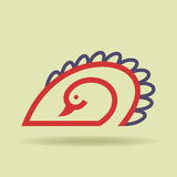 Bird icon  with hands Royalty Free Stock Image
