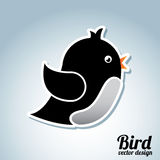Bird icon Stock Images