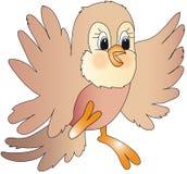 Bird illustration cartoon Royalty Free Stock Images