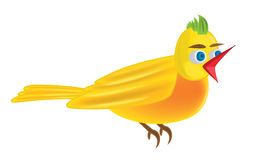 Bird illustration Stock Images