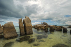 Bird island belitung indonesia Royalty Free Stock Image