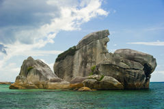 Bird island belitung indonesia landmark Stock Images