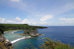 Bird island in Saipan Stock Photography