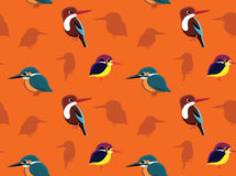 Bird Kingfisher Wallpaper Stock Photography