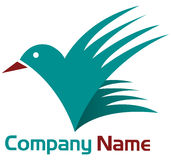 Bird logo Royalty Free Stock Image