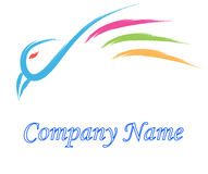 Bird logo Stock Photography