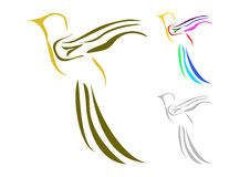 Bird logo Stock Photo