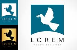 Bird logo vector. Bird logo design vector illustration Stock Photos
