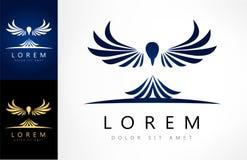 Bird logo vector. Bird logo design vector illustration Royalty Free Stock Images