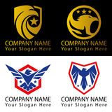 Bird Logo Patriotic Concept Stock Photo