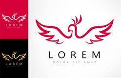 Bird logo vector. Logo design vector illustration Royalty Free Stock Photo