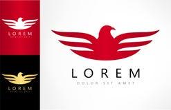 Bird logo vector. Bird logo design vector illustration Royalty Free Stock Image