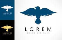 Bird logo vector. Bird logo design vector illustration Stock Images