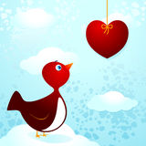 Bird in love Royalty Free Stock Photos