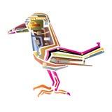 Bird Map Stock Photo