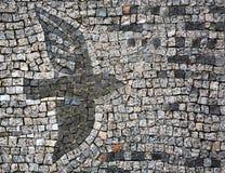Bird from mosaic Royalty Free Stock Image