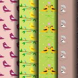 Bird motifs Royalty Free Stock Photos