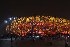 Bird nest(Beijing National Stadium) Royalty Free Stock Image