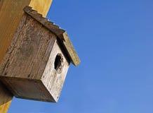 Bird nest box Stock Images