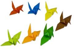 Bird Origami Royalty Free Stock Photos