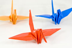Bird Origami Royalty Free Stock Images