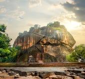 Bird over Sigiriya Stock Images