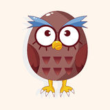 Bird owl cartoon theme elements vector,eps Royalty Free Stock Photo