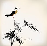 Bird painting Royalty Free Stock Image