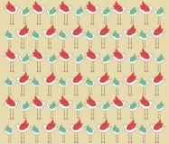 bird pattern Royalty Free Stock Photography