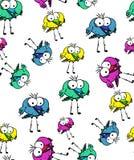 Bird pattern royalty free illustration