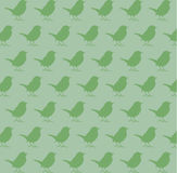 Bird pattern Stock Image