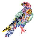 Bird patterns and miniatures symbolizing UAE Stock Photos