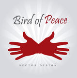 Bird of peace Stock Image