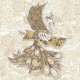Bird Phoenix menndi Royalty Free Stock Images