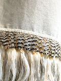 Bird plumes textile background Stock Photography