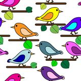 Bird repetition Royalty Free Stock Image