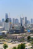 Bird's eye view of Bangkok Royalty Free Stock Photography