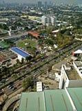 Bird's eye view of building dozens of inner Bangkok . Royalty Free Stock Image
